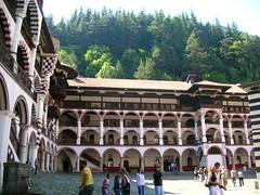 monastre de Rila (hugojanssens) Tags: monastere bulgarie