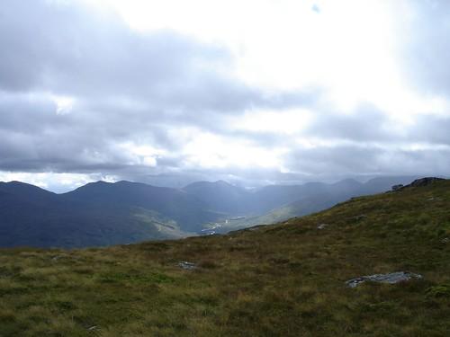 View from Meall Ghaordaidh