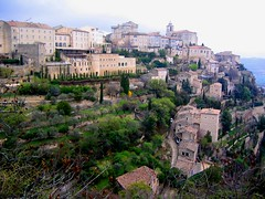 Gordes Facade - by Sanctu