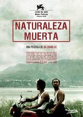 Póster y trailer de 'Naturaleza muerta' (Still life)