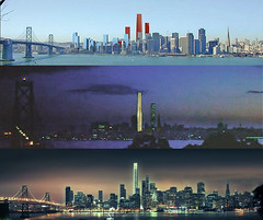Will Life Imitate the movies? v2 SF Towers (brunoboris) Tags: sanfrancisco treasureisland baybridge som transbayterminal toweringinferno transbaytower sanfranciscoplanningdepartment