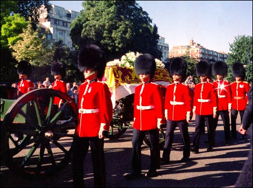 pictures of princess diana funeral. Princess Diana#39;s Funeral 1997