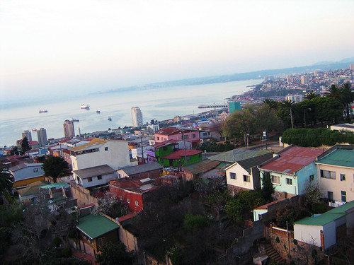 View of Valparaiso from the top of La Sebastiana 3