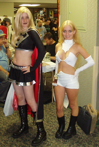 Supergirl and White Queen