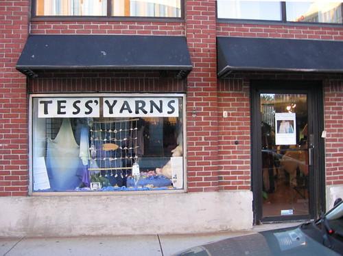 Tess' Yarns exterior