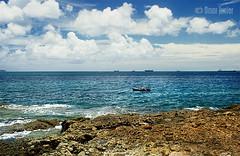 . Fisherman of Illusions in Paradise (Omar Junior) Tags: blue brazil sky color colors azul brasil contrast cores de landscape geotagged pentax d paisagem bahia junior salvador 24mm monte ponta omar ist pentaxistd serrat hight humait hc geo:lat=12928862 geo:lon=3851922