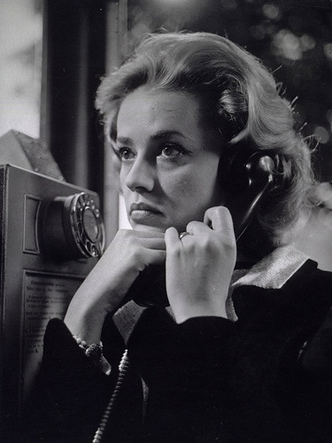 Jeanne Moreau in 'Ascenseur pour l'échafaud'