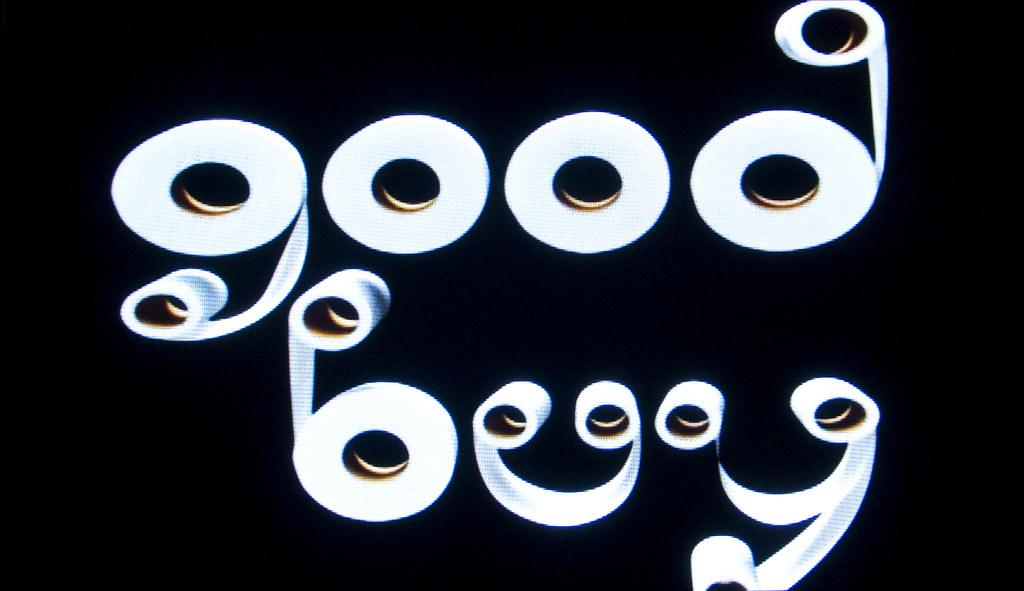 toilet paper typography