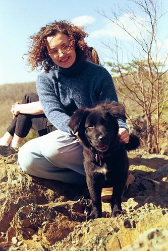 rachel and kizzy puppy