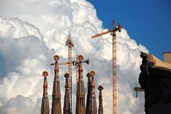 Cloudy Familia (supertsaar) Tags: barcelona gaudi sagradafamilia
