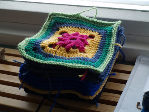 More crochet blocks