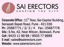 Sai Erectors, developers of Sai Canary Balewadi Pune, Contact Details