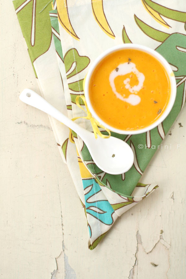 Mango fruit soup