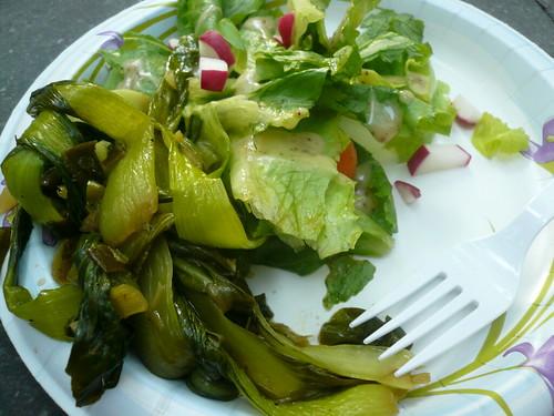 Bok Choy; Salad