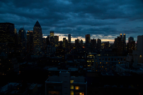 view from Lynh's apartment, NYC