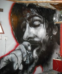 "Micheal ""eyedea"" Larsen Memorial (Light The Underground) Tags: plaza graffiti mural indoor spraypaint crowne rhymesayers eyedea serp2 michealeyedealarsenmemorial"