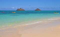 Lanikai beach Oahu Hawaii (marinfinito) Tags: sea usa beach hawaii oahu pacificocean pacificislands lanikaibeach