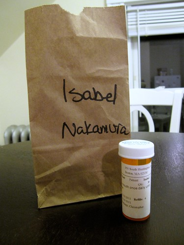 izzy's new medication