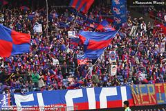 横浜FマリノスvsFC東京 FC東京ゴール裏