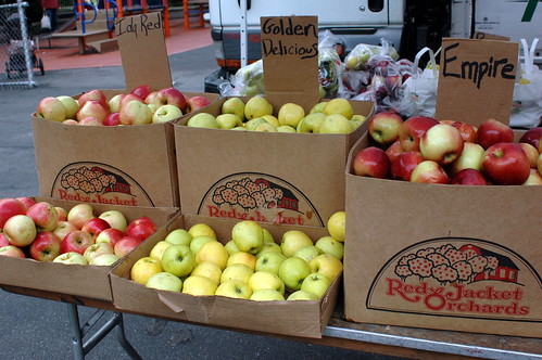 Apples, Red Jacket Orchards, Cortelyou Greenmarket