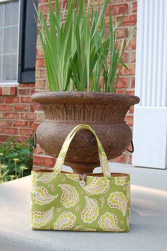 Green Amy Butler purse