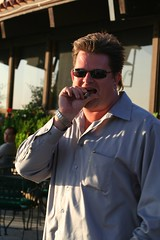 Jim Griswold (FrogMiller) Tags: sunset orange fun drinking jim cigar patio alcohol lawyers lawyer happyhour attorney orangehill attorneys orangehillrestaurant ocbarristers jimgriswold