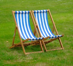 Deckchairs (Helena Pugsley) Tags: london relax chair deckchair chairs deckchairs 15challengeswinner