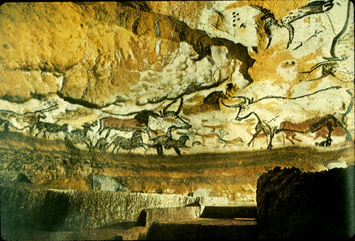 Lascaux Caves, France 16,500 BCE by asmallstudio.
