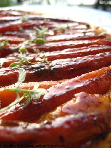 Carrot Tatin