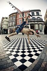 Street Entertainer, Cork (C) 2007
