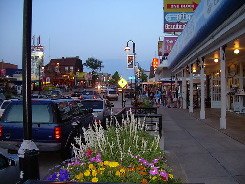 Wisconsin Dells at Night