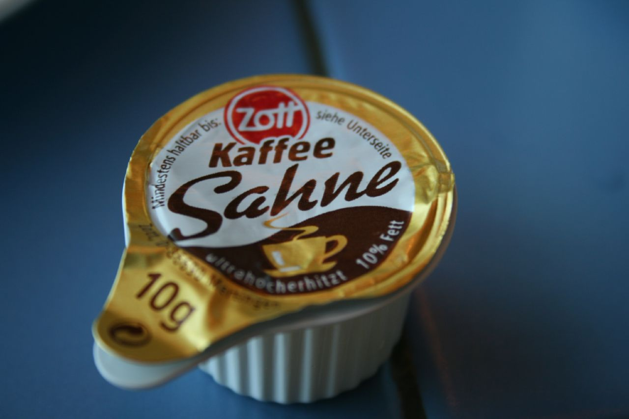 echte deutsche Kaffesahne