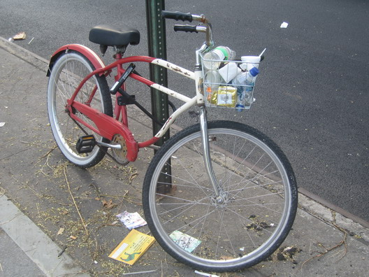 Bike with Trash One