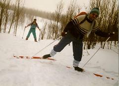 Sport ca. 1990: Ski-LL in Lenningen, Norwegen (ulrich_grimm75) Tags: norwegen ulrich grimm skilanglauf