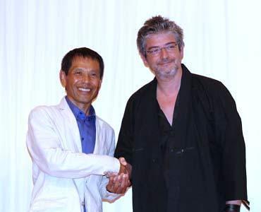 Manuel Huerga en Japón (2007)