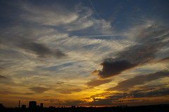 (Beyond the Lens) Tags: sunset sky london supershot 6055 colourartaward excapture