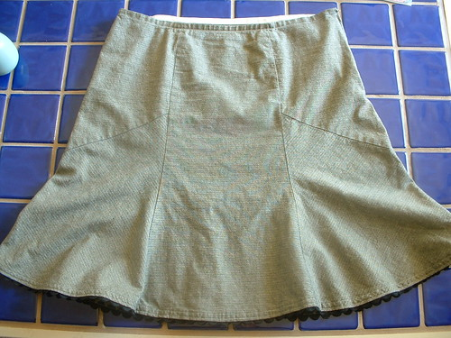 Flounce Skirt Front