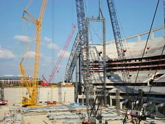 cowboys dallas construction stadium