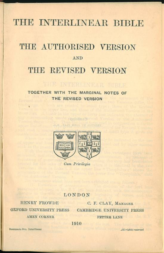 revised version 1881 online dating