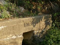 showing its age (BreakneckRd) Tags: dam newengland sturbridge 1914 westville
