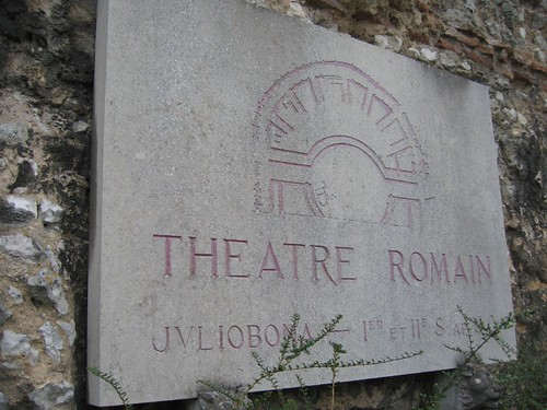 Roman Theatre, 1st and 2nd Century, Lillebonne, Normandy par phil_graham_2002