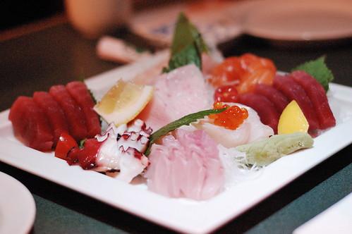 Sashimi for 4