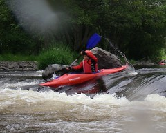 White Water Kayaking, River Dee