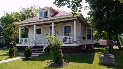 A home in downtown Round Lake, Illinois