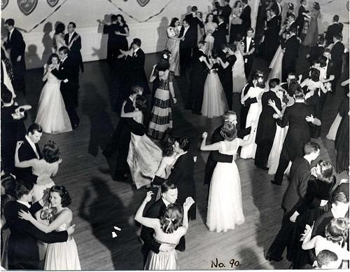 Dancing at the Junior Prom