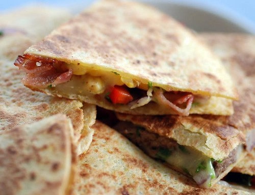 bacon-quesadilla