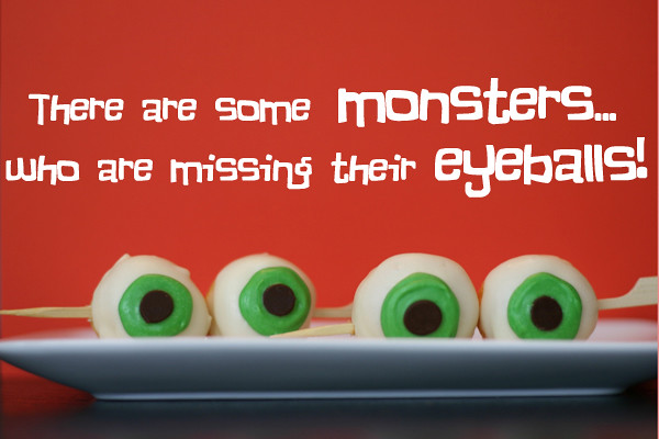 monster eyeballs- missing