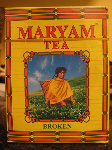 """broken"" Maryam Tea"