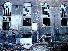 (Cherryl.B) Tags: old abandoned factory belgium belgique destruction rusty destroyed usine rouille cuve btiments terril abandonne charbonnage cokerie anderlues