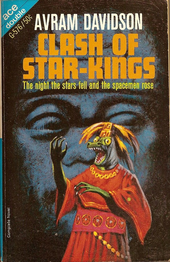 Jack Gaughan cover art - Avram Davidson - CLash Of The Star-Kings, 1966